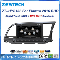car parts for hyundai elantra 2016 accessories right hand drive with car dvd player gps navigation