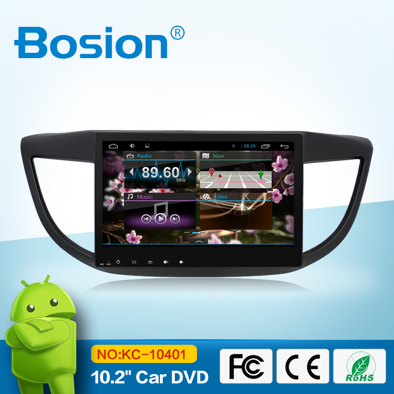 android 4.4.4 car navigation stereo for CRV /bluetooth gps radio swc phone connect wifi 3g phone connect aux in
