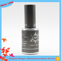 Top Quality gray custom empty nail polish bottle for beauty women
