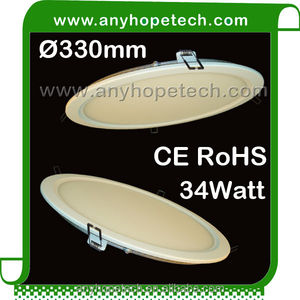 Diameter 330mm 34W super bright round led ceiling light supplier