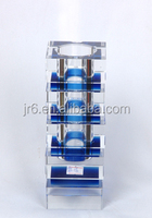 Blue Color Handmade Beautiful Glass Mosaic Vase