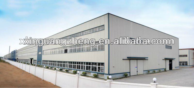 generator warehouse steel structure warehouse with construction design