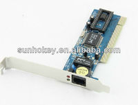 Internet PCI 8139D Lan Card,Realtek RTL8139D 10/100M 32bit RJ45 PCI Ethernet LAN Adapter