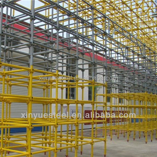 Cuplock scaffolding system main components 48.3mm