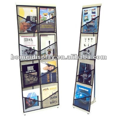 high quality light brochure stand Literature Rack