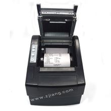 "300mm/s Speed Black 3"" ZJ-8220 80mm Receipt Thermal Printer With Bluetooth For Win10 Linux Computer / Laptop / Tablet"