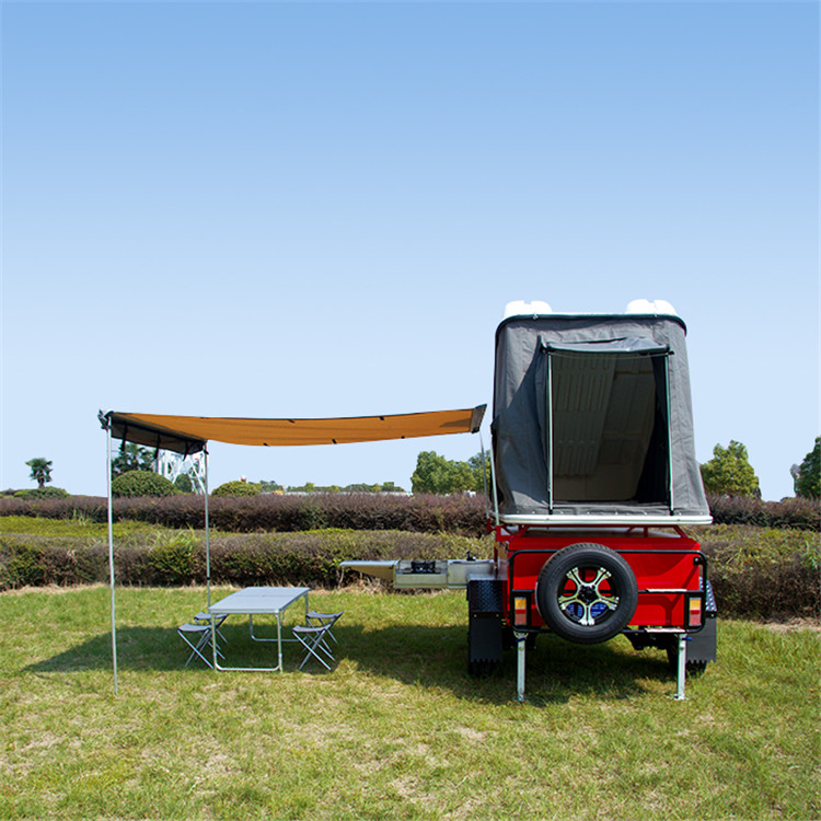 High quality front fold open camper trailer