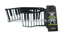Musical instrument 88 keys roll up piano
