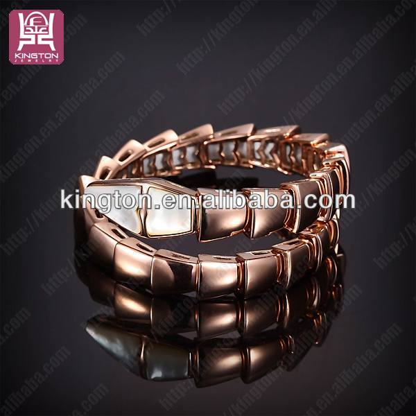 Girls top brands stainless steel cuff bracelet