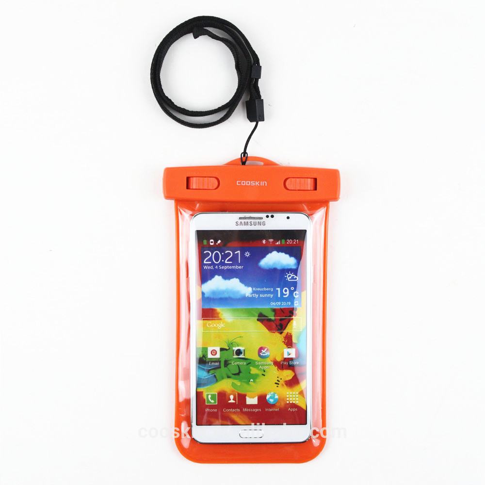 Hot new products for 2015 wholesale supplier waterproof phone case for galaxy j5 /galaxy note 2 n7100 lcd touch screen