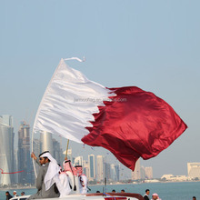 qatar national day banner polyester country flag