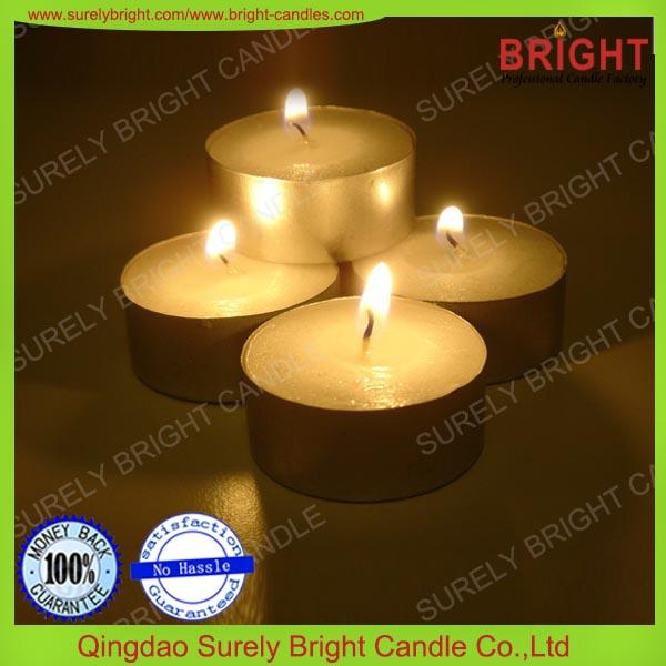 Blanca normal uso doméstico atmósfera hogar 17 g europea vela de té
