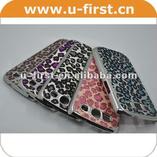 For Samsung Galaxy S3 i9300 new case,metal+PU,good quality