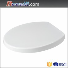 Toilet seat cover cheap price wholesale, thermoset plastic, urea material white color sanitary seat