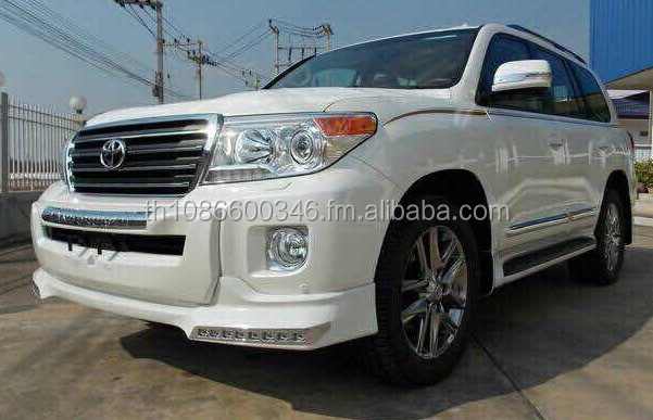 White Toyota Land Cruiser GX 4.5L, Diesel, Year:2015