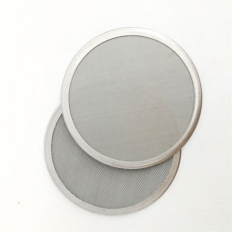 304 stainless steel wire disc mesh water filter