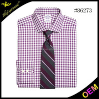 High quality and competitive price Slim fit Dress fashion high collar dress shirts for men