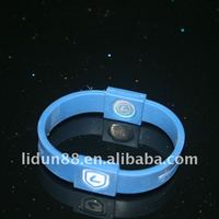 LiDun Latest Style Silicone Bracelets With