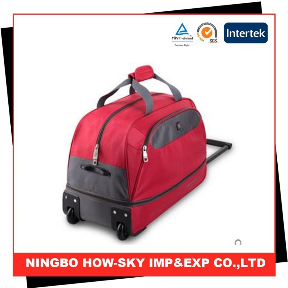 Trolley travel bag/ wheeled market trolley bag/ laptop trolley bag