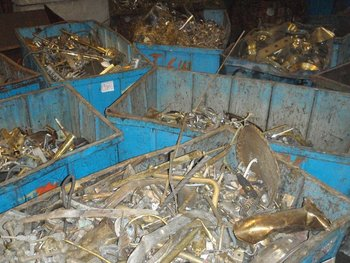 Brass scrap, SGM Recycling