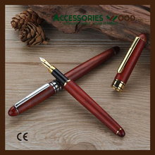 Fountain pen Wooden pen with high quality and nice looking for business man