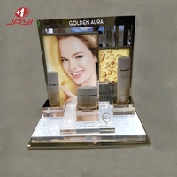 One stop service Custom makeup cosmetic mobile phone display counter