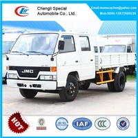 JMC double cabin cargo truck for sale double cabin pickup truck 3-5tons