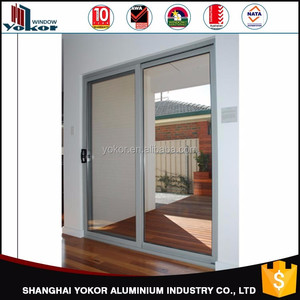 Australian Standard 2017 latest aluminium glass sliding doors made in china