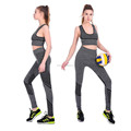 Womens sport gym wear top bra and legging fitness yoga suit