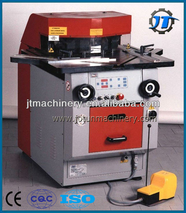 Jotun 6mm Variable angle Hydraulic Corner Notching Machine