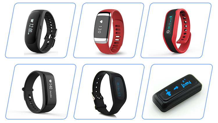 Wrist Pedometer JP-1303 Activity Tracker Smart Pedometer Watch Bluetooth Bracelet