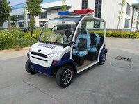 4 Person/Seater Electric Patrol Car
