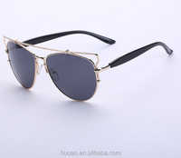 Factory wholesale 2016 summer sunglasses high quality girls sunglasses