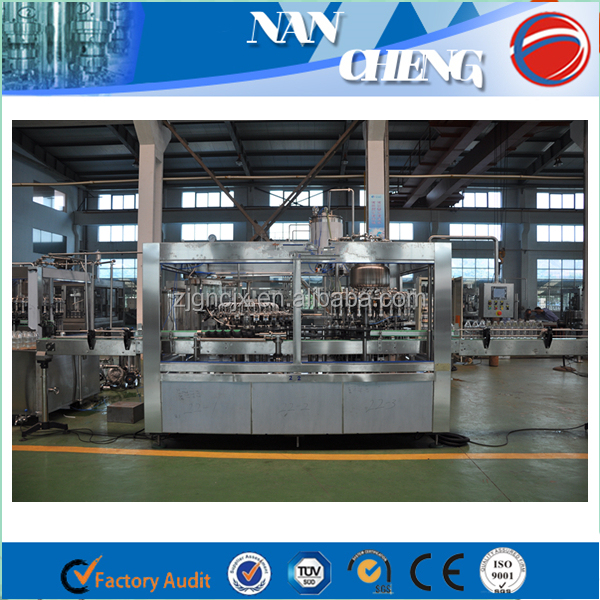 3000BPH Automatic Soy Sauce Bottling Equipment