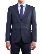 New business suit design formal wear groom wedding suit tailored wool fabric