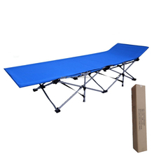 Outdoor fishing camping iron reclining folding bed dubai