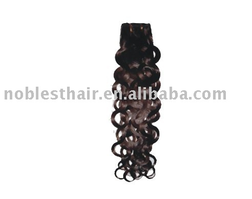 hand tied weft,cheap hair extension,PW-MW-06(Italian Curl),natural color,accepted paypal