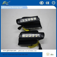 used accident car led daytime running light for Toyota Land Cruiser Prado 2003-2007 led street light
