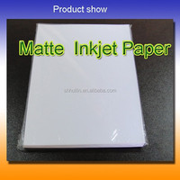 Waterproof single side matte inkjet photo printing paper