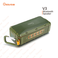 Portable wireless mini bluetooth speaker with fm radio, CE certificate