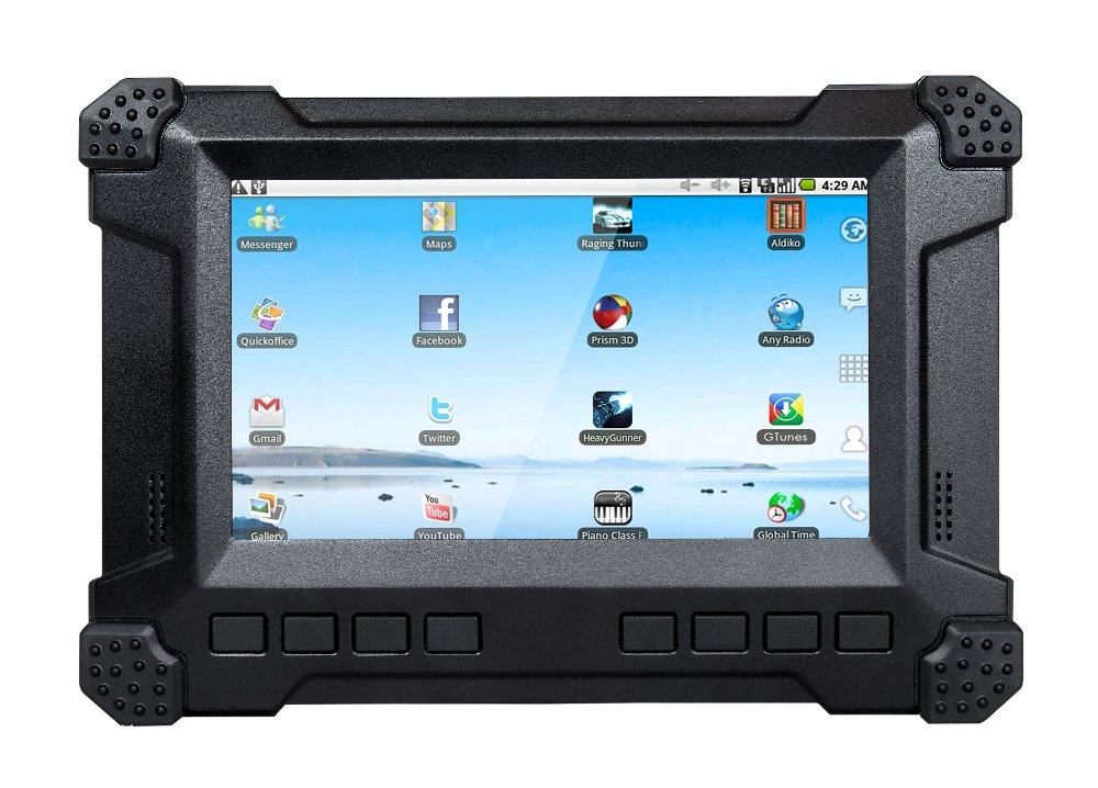 7 inch IP54 WinCE/Android/Linux Car GPS Tracker Tablet with 3G, Wifi, Bluetooth, CAN Bus for Agriculture Truck
