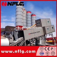 100T/H Mobile Ready Mixed Concrete Plant for sale