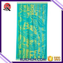 Good Quality Compressed Printed Microfiber Beach Towels