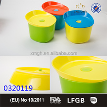 3 COLOR ASSORT High Volume LunchBox in 1 layer