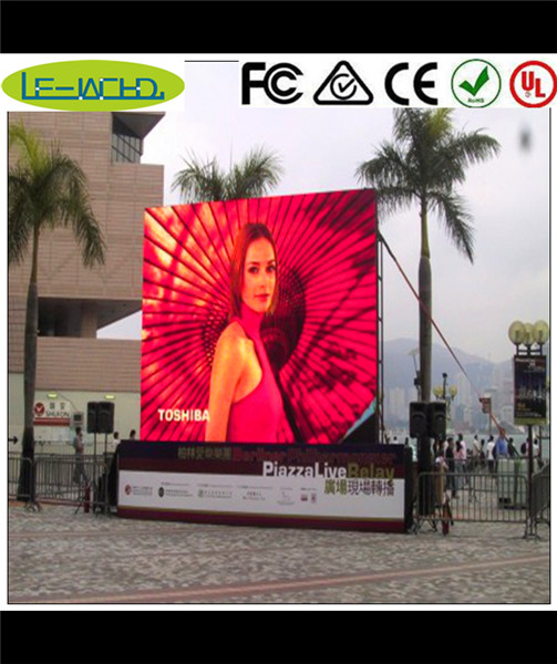 p5.95 smd outdoor led display flexible indoor advertising sign wide view angle indoor video wall screen enhanced surface