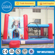 Brand new china bounce house fun city amusement inflatable bungee jump rock bouncer for sale with EN14960/EN15649