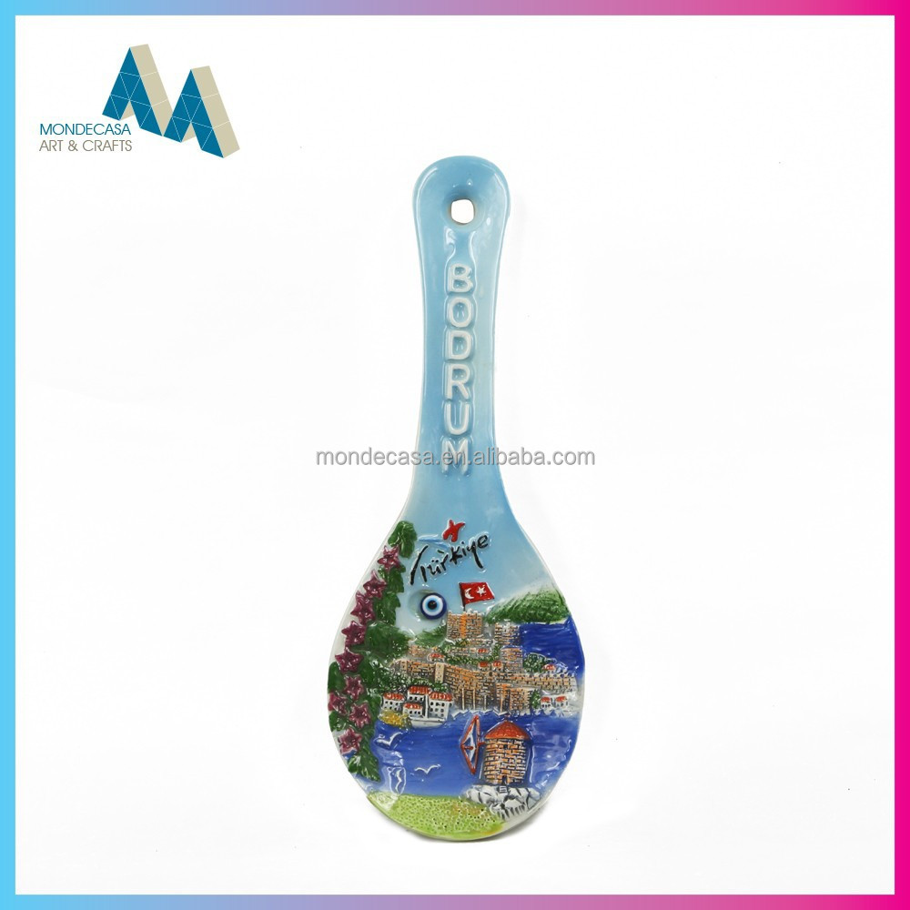 Wholesale china goods ceramic coffee spoon rest
