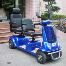 Electric double seats mobility scooter (DL24800-4) with CE