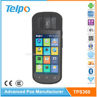 New Fashion Android 6.0 Mobile Pos Machine with biometric fingerprint scanner