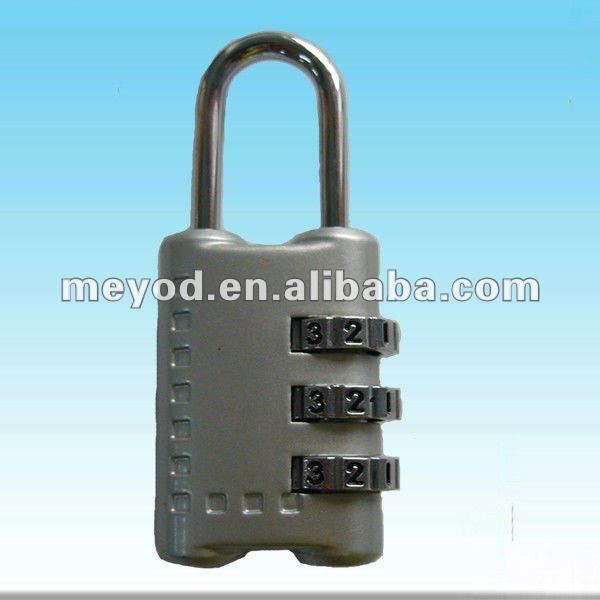 3-dial bag combination lock,Mini combination padlock